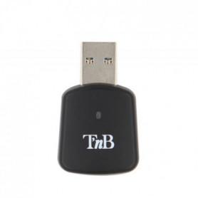T'NB Nano Clé WI-Fi AC 1200 Mbps Noir