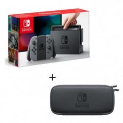 Console Nintendo Switch avec Joy-Cons Gris + Pochette