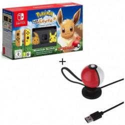 Console Nintendo Switch + Pokemon : Let's Go, Evoli !