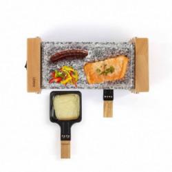 LIVOO DOC218 Appareil a raclette gril 2 personnes - Beige