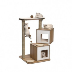 Arbre A Chat Vesper V Double Noyer H103cm