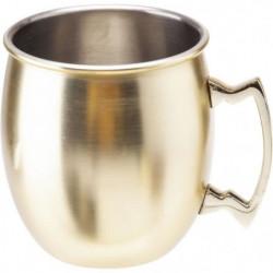COSY&TRENDY 7314311 Gobelet/Mug Moscow doré 45Cl