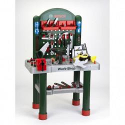 KLEIN - Établi Bosch Workshop avec visseuse mécanique et