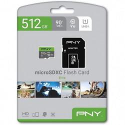 PNY Carte mémoire MicroSDx 512Go Elite