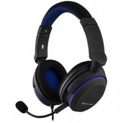 THE G-LAB Korp Oxygen P Casque Gaming Compatible PS4 - Noir/Bleu