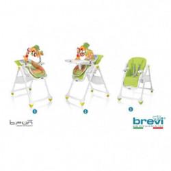 BREVI - Chaise b.fun  2 en 1 transat et chaise réglable en
