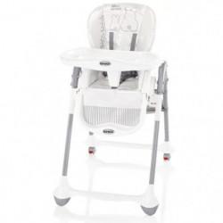BREVI - Chaise Convivio chaise multipositions - Imprimé lapinou