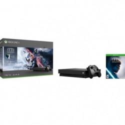 Xbox One X 1To Star Wars Jedi : Fallen Order + 1 mois d'essai au