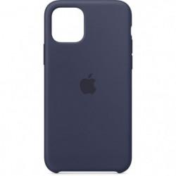 APPLE Coque Silicone Bleu nuit pour iPhone 11 Pro