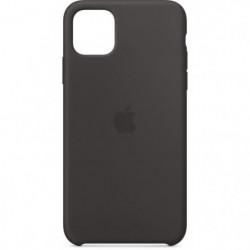 APPLE Coque Silicone Noir pour iPhone 11 Pro Max