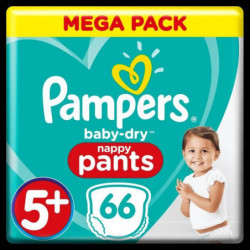 Pampers Baby-Dry Pants T5+, x66