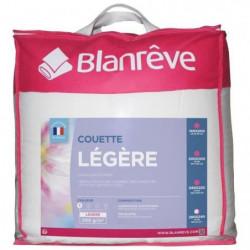 BLANREVE Couette légere en microfibre - 240 x 260 cm - Blanc