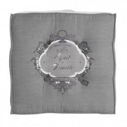 SOLEIL D' OCRE Coussin tapissier Esprit de Famille 100% coton