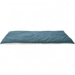 TRIXIE Couverture Lupo - 100 × 70 cm - Pétrole et creme