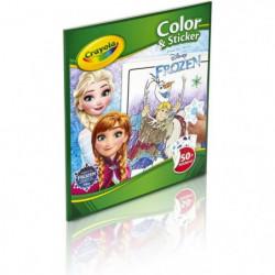 Crayola - Album de coloriage et autocollants la Reine des Neiges