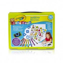 Crayola - Mini Kids - Mon 1er Kit de tampons - Coloriage