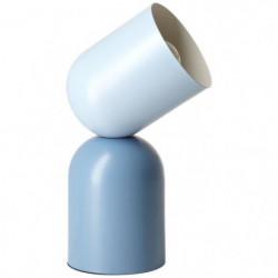 BRILLANT Lampe a poser Yan - Métal - E27 1x30W - Bleu
