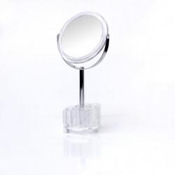 VITAEASY Miroir double face sur pied + rangement