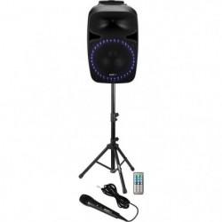 BOOST 15-2427BO Systeme de sonorisation avec tuner FM, Lecteur