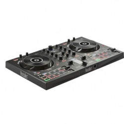 HERCULES InPulse 300 - Contrôleur DJ USB - 2 pistes avec 16 pads