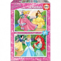 EDUCA - puzzle 2x20 Disney princesses