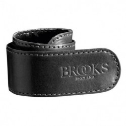 BROOKS Sangle a pantalon en cuir - Noir