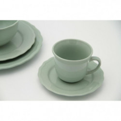 Service de table - 24 pieces - Collection Patrimo - vert