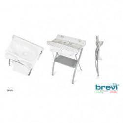 BREVI - Table a langer Lindo   - Imprimé koko multico