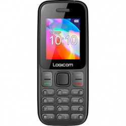 "LOGICOM Le Posh 177 Feature Phone 1,77"" Noir 32 Mo"