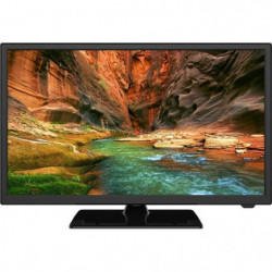 OCEANIC TV LED HD - 24'' (60 cm) - Pied central - HDMI USB