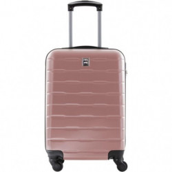 CITY BAG Valise Cabine Ultralight ABS 4 Roues Rose