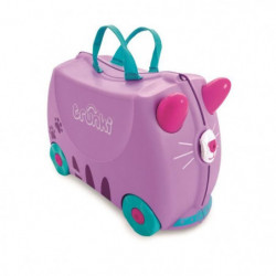 TRUNKI Ride On Valise a Roulettes Enfant Chat Cassie - 46x30x21