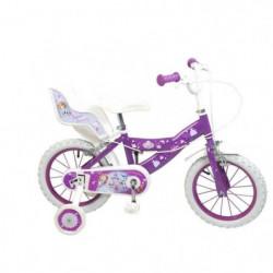 """PRINCESSE SOFIA Vélo Enfant fille - 14"""" - 4/7 ans - Violet"""
