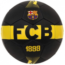 FC BARCELONA Ballon Foot Black Jersey