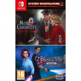 Mystery Investigations 1 - Path of Sin : Greed + Noir Chronicles