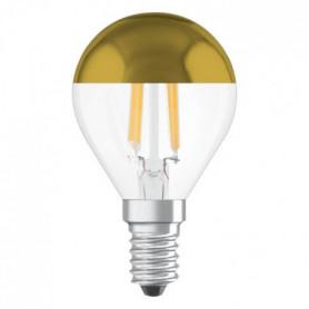 OSRAM Ampoule déco LED sphérique E24 - 4 W - Calotte dorée