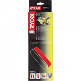 RYOBI 2 Bandes abrasives 75 x 533 mm Grain 60 & 80