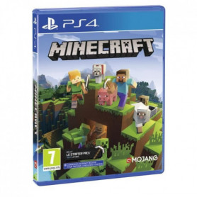 Minecraft Bedrock Jeu PS4