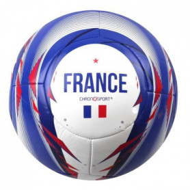 CHRONOSPORT Ballon de football France - Taille 5