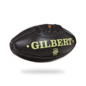 GILBERT Ballon de rugby VINTAGE - Taille Mini - Cuir - Noir