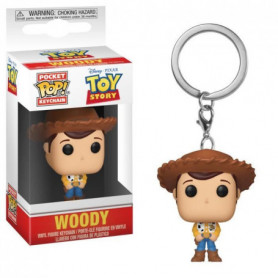 Porteclé Funko Pocket Pop! Toy Story: Woody