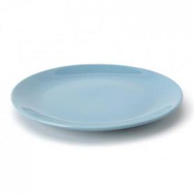 TTD Lot 6 ass plates A04972/01 26cm - bleu