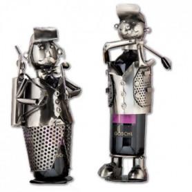 Portes bouteilles métal Golf