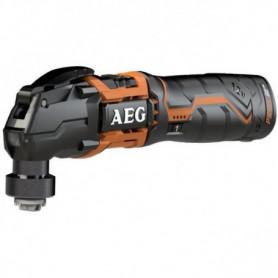 AEG POWERTOOLS Multitool 12 Volts, 2 x 1,5Ah Li-ion + accessoires