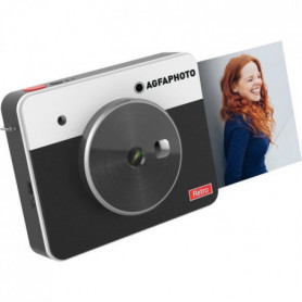 AGFA ASQS33BK Mini Appareil photo imprimante Realipix Square S
