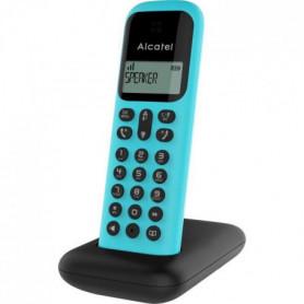 ALCATEL Téléphone fixe D285 SOLO Turquoise sans fil dect solo