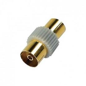 APM 411012 Adaptateur Coaxial Femelle 9 mm / Femelle 9,52 mm