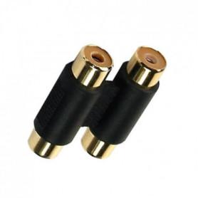 APM 422008 Adaptateur Double 2 RCA Femelles / 2 RCA Femelles