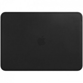 Housse en cuir pour MacBookAir et MacBookPro 13pouces - Noir