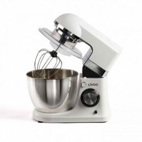 LIVOO DOP194 Robot pâtissier multifonctions - Blanc